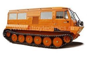 Гусеничный тягач ТТМ-3902 ПС