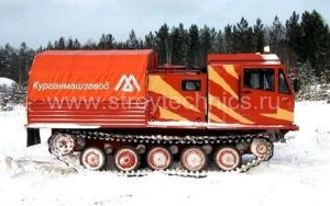 Гусеничный тягач ТМ-120