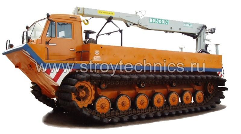 Болотоход ТТМ-6901 ГМ грузовой